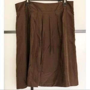 Brown Banana Republic skirt